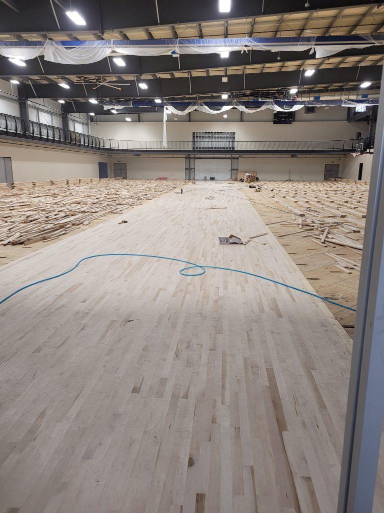 May 2021 Fieldhouse Flooring