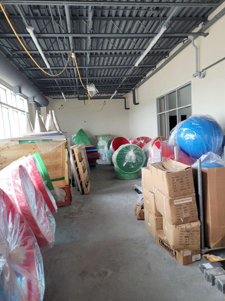 May 2021 Playground equipment is here!