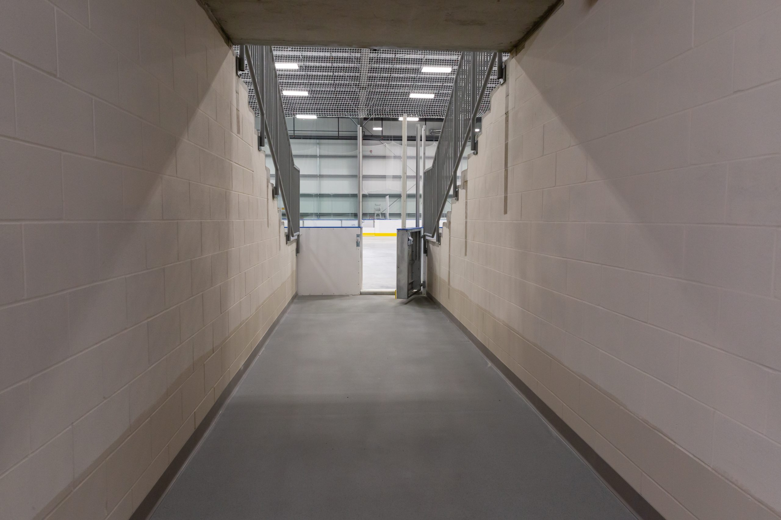 July 2021 - Tunnel in Arena